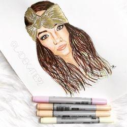Headband Illustration for KRZA