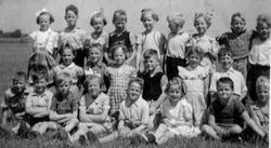School picture 1952 Ulrum