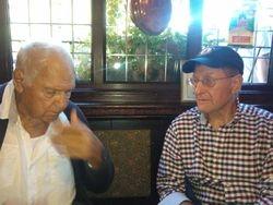 Rene Lasartesse and Pete Roberts