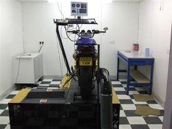 Yamaha XJR 1300 on Dyno