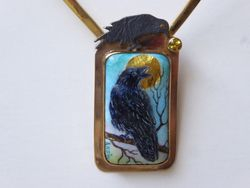 Raven steals the Sun - SOLD