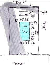 Courtyard Sketch