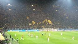 Dortmund's 'Yellow Wall' of 25k fans
