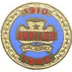 1960 Jubilee Metal Badge