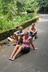 Enjoying the rainforest!
