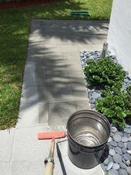 Walkway pavers Sealing