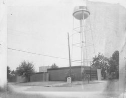 Brookshire Water Tower late 1950s