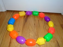 Fisher Price Snap Lock Beads - $10