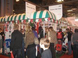 Discover Dogs Booth