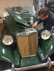 MG TD in for drivability/ running issues