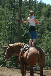 May: Training in Golden, Colorado, USA - Jeanine practicing her Freestyle on Smoke