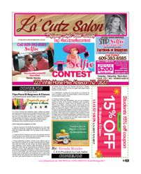 La Cutz Salon, Newspaper Promotions, Specials