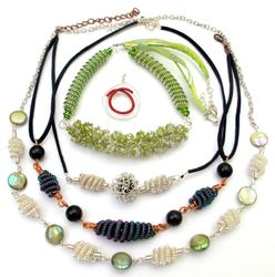 Coiled Necklaces