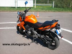 KAWASAKI ER6N 2008 GADA MOTOCIKLS
