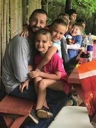 Tj having fun with the kids!