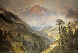 Moran, Mountain of the Holy Cross, 1875, Los Angeles, Autry Museum