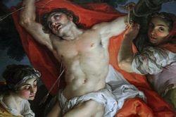 Lopez, St. Sebastian Tended by Irene, 1798-180, Getty