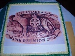 40 Year Reunion Cake