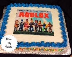 Roblox Sheet Cake