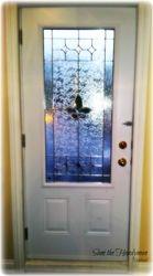 New Exterior door installation (Inside view)