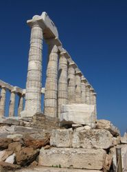Temple of Poseidon, Cape Sounion 2