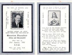 Mortuary Card