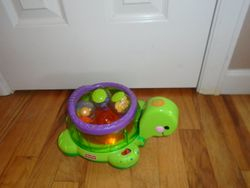 Fisher Price Roll-a-Rounds - Twirlin' Whirlin' Turtle - $20