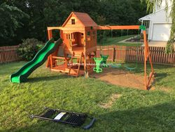 backyard discovery swing set assembly service in brambleton VA