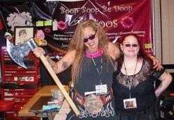 Jami aka Psycho Cybil & I in Reno '11