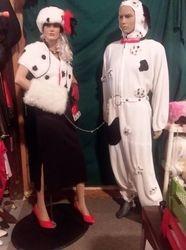 Cruelly De vil & Dalmatian