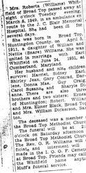 Whitfield, Roberta Williams 1949