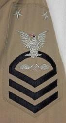 Jerry Welter, MCPO, Khaki Uniform:
