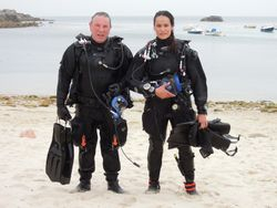 Neil Brock, bristolchanneldiving.co.uk - safety diver and all round gent