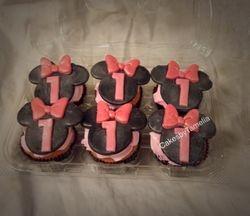 Minnie Mouuse Cupcakes