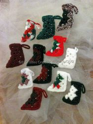 Dozen Christmas Ornaments - Set 3