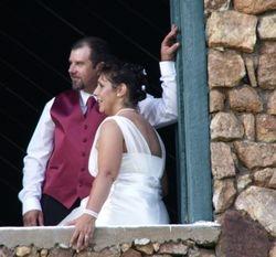 Mike and Nena upstairs in Loft Door