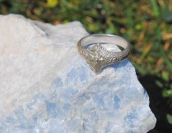 Sterling 'Mountain' ring