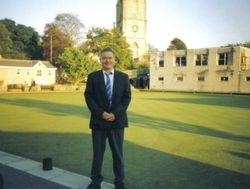 Gary Lyon at Clevedon