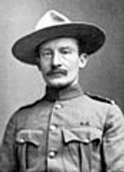 Robert Baden-Powell in Army Uniform