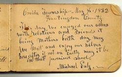 Michael Ealy's autograph
