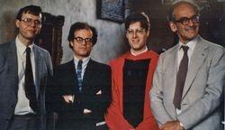 Mark Haxthausen, Konrad Oberhuber, RB, James Ackerman