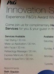 Menus of services