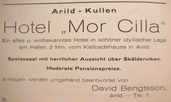 Hotell Mor Cilla 1926