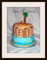 Hawaiian Island Cake