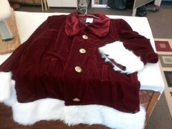 Santa's new outfit