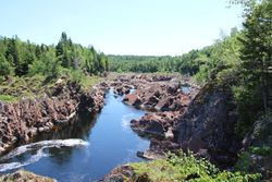 View at Salmondid, Grand Falls