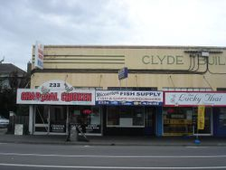Clyde Building on Riccarton Road