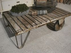 #16/066 Industrial Cart/Coffee Table
