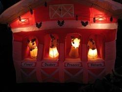 The Reindeer barn