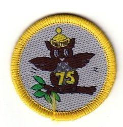 1989 Brownie Anniversary Cloth Badge